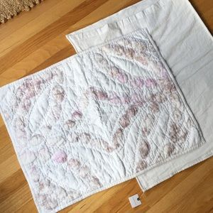 Set of Anthropologie Quilted Standard Shams